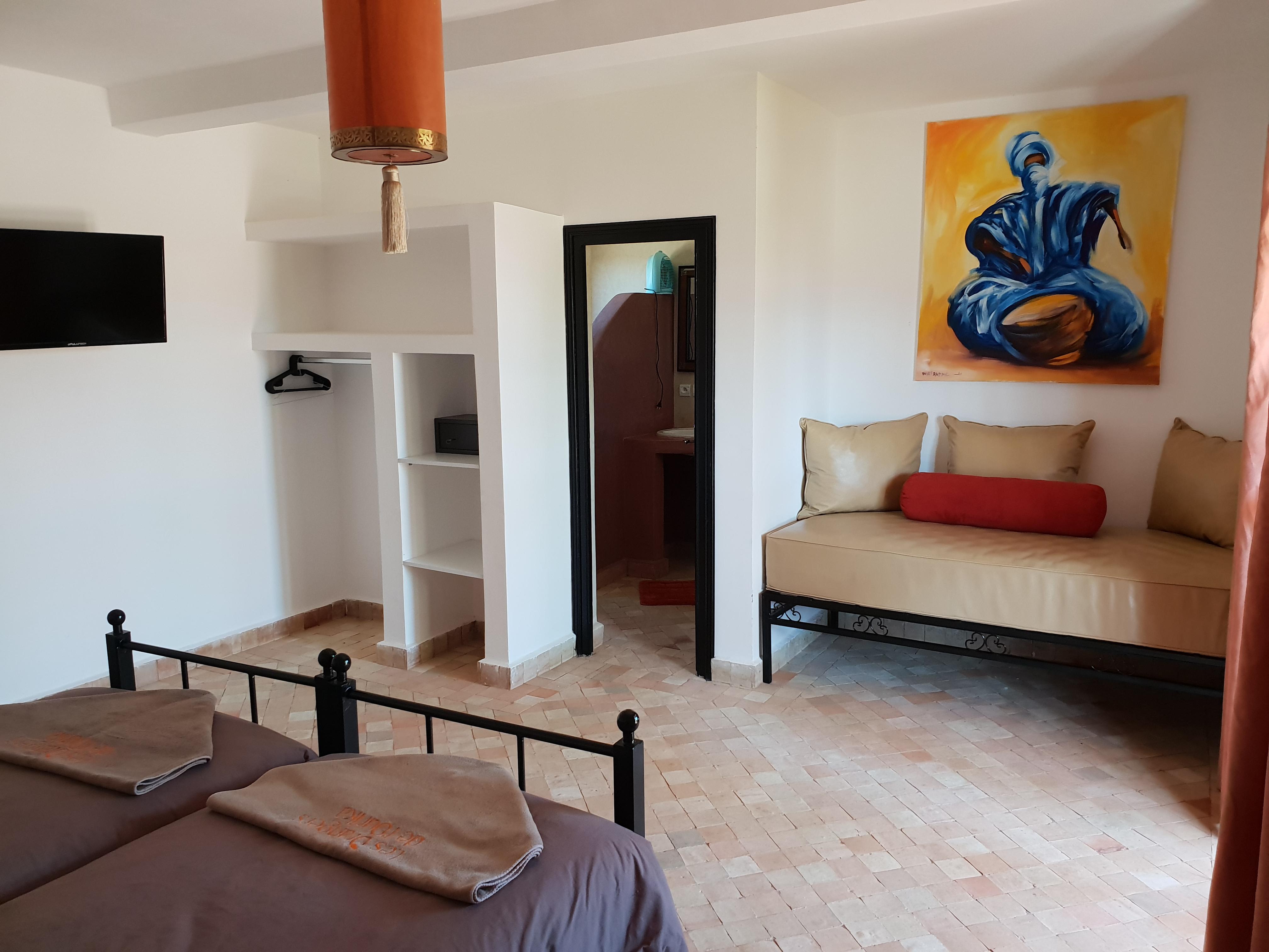 Tele Salle De Bain bungalow classique – les orangers de l'ourika